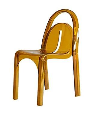 TUONI Stuhl 4er Set Ginger gelb
