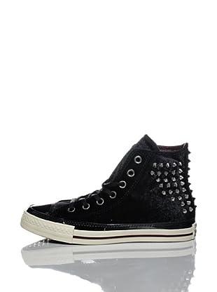 Converse Zapatillas All Star Velvet Studs (Negro / Burdeos)