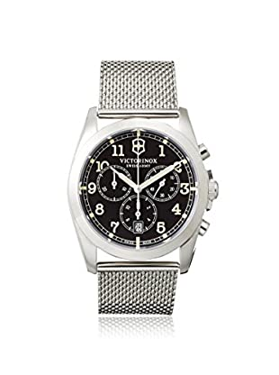 Victorinox Swiss Army Men's 241589 Infantry Chronograph Silver/Black Stainless Steel Watch