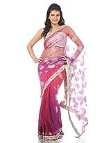 HIGHBORN - Princess Flamboyance Saree by Shradha Pandit