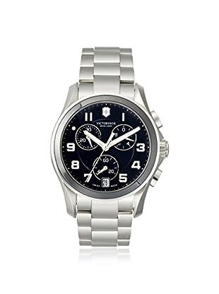 Victorinox Swiss Army Men's 241544 Chrono Classic Ceramic Silver/Black Stainless Steel Watch