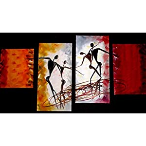 NUCreations Dance Of Love - Original Painting - Oil Paint On Canvas