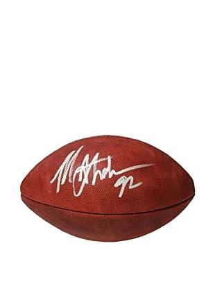 Steiner Sports Memorabilia Michael Strahan NFL Duke Football