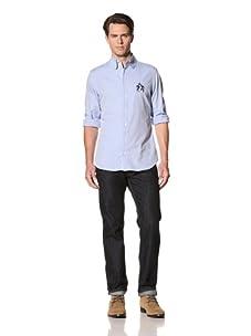 Vivienne Westwood Men's Classic Oxford Shirt (Light Blue)