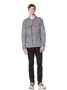 EDUN Men's Zip Front Jacket (Ash)
