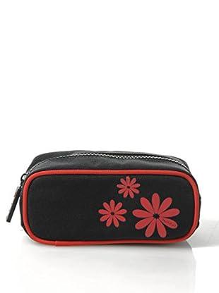 H.Due.O Necessaire Hippy Flowers Rosso