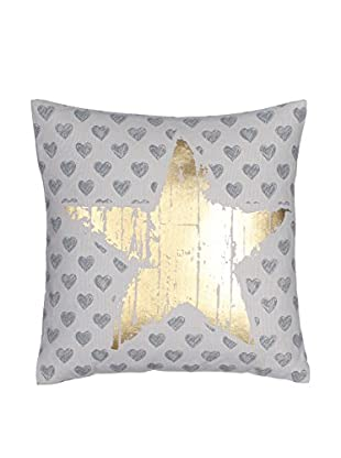 Chateau chic Kissen gold/grau