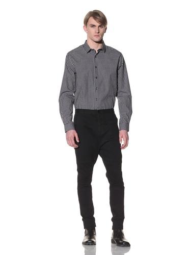 Saxony Men's Kiyoshi Long Sleeve Shirt (Black)