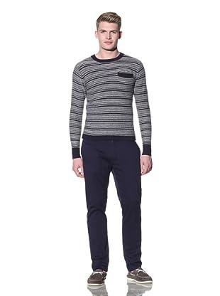 Riviera Club Men's Pocket Sweater (Navy)
