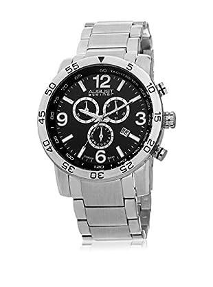 August Steiner Reloj con movimiento cuarzo suizo Man AS8097SSB 46 mm