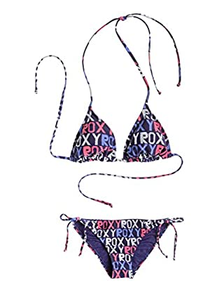 Roxy Bikini Tiki Tri Tie Side