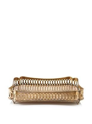 Castilian Tray (Antique Brass)