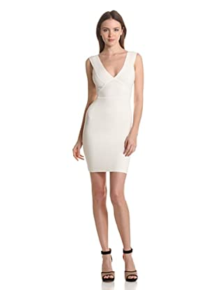 BCBGMaxazria Vestido Wendy (Blanco)
