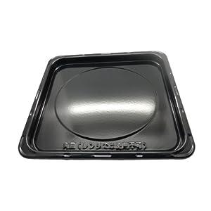 【クリックで詳細表示】Panasonic オーブン用角皿 A0603-1L40: ホーム&キッチン