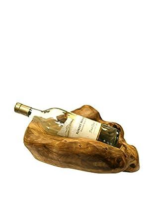 Root Carvings Wine Bottle Holder