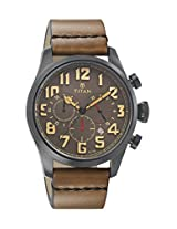 Titan Purple Upgrades Analog Grey Dial Men's Watch - 9477NL02J