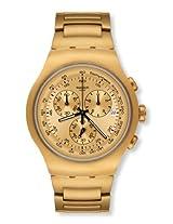 Swatch Golden Steel Chronograph Men Watch YOG402G