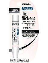 Restorz Lip Flickers, Pearl, .09 Ounce