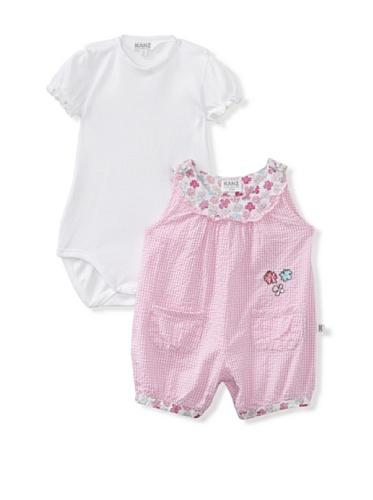 KANZ Baby 2-Piece Romper & Bodysuit Set (Pink)