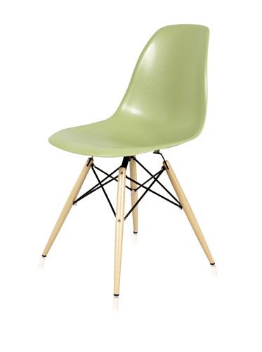 Mid-Century Eiffel Dining Chair (Green)