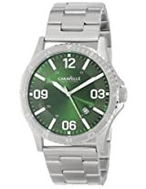 Bulova Analog Green Dial Men's Watch - 43B129