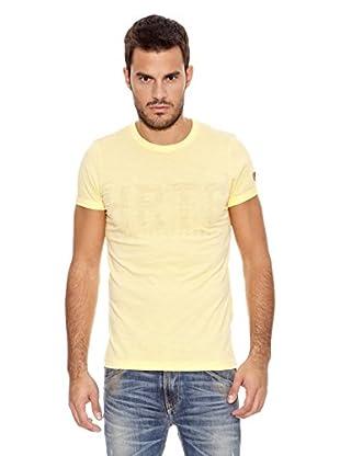 Pepe Jeans London Camiseta Patton (Amarillo Claro)