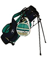Sassy Caddy Junior Preppy Golf Stand Bag Teal/Navy/White