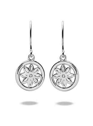 Secret Diamonds 60250077 - Pendientes de mujer de plata de ley con 2 diamantes