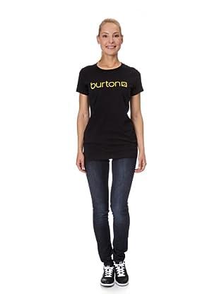 Burton Camiseta Logo (negro)
