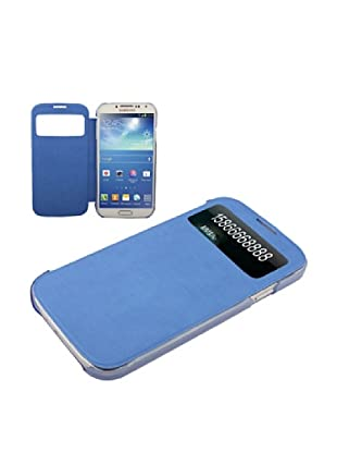 Unotec Custodia con Ventosa Flip per Galaxy S4 Blu