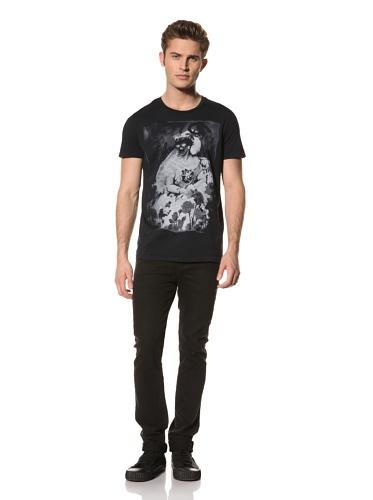 Rogue Men's Short Sleeved T-Shirt (Navy blue)