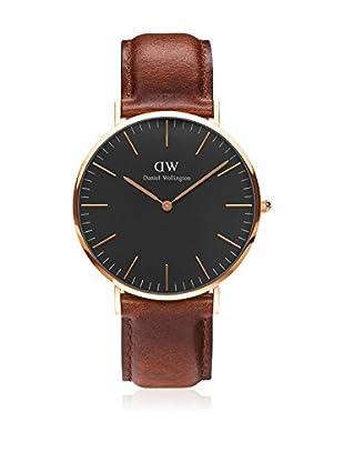 Daniel Wellington Reloj con movimiento cuarzo japonés Woman Classic St Mawes brown 36 mm