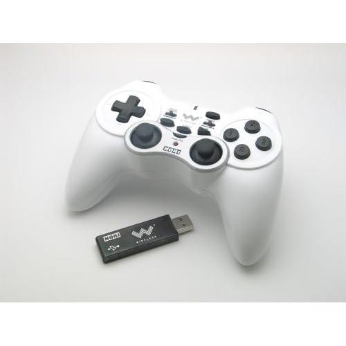 HORI PC用ワイヤレスゲームパッド ワイヤレスアナ振PC ホワイト HPC-03