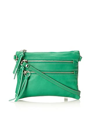Luciana Verde Women's Essex Cross-Body Bag (Green)