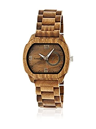 Earth Reloj con movimiento cuarzo japonés Unisex Scaly Ethew2104 Marrón Medio 46 mm