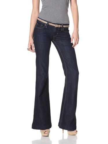 DL 1961 Premium Denim Women's Melissa Wide Leg Jeans (Mariner)