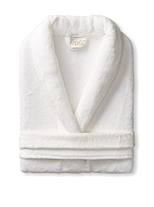 Espalma Cuddle Shawl Robe, White