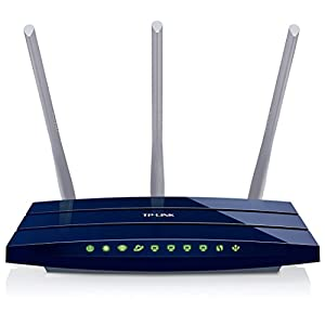 TP-Link TL-WR1043ND 450Mbps Wireless N Gigabit Router (Blue)