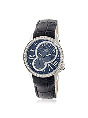 Sophie and Freda Women's SF2801 Toronto Black Leather Watch