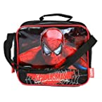 Spiderman Light Up Lunch bag (Black)