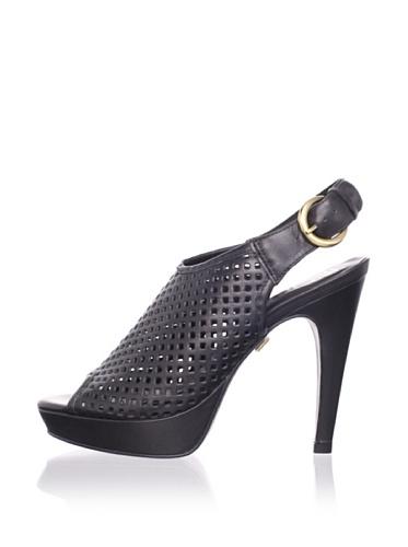 Pour La Victoire Women's Kiela Platform Sandal (Black)