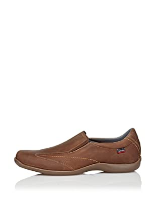 CallagHan Zapatos Deportivos Pala Lisa (Camel)