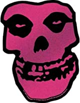 Licenses Products Misfits Pink Skull Glitter Sticker by Licenses Products