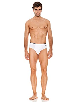 Abanderado Slip Real Cool Cotton (Blanco)
