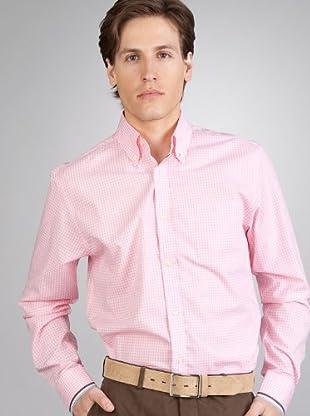 Hackett Camisa Cuadros (Rosa / Blanco)