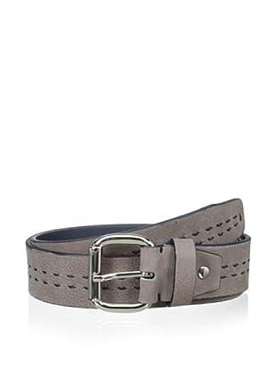 Bolliver Men's Center Stitch Belt (Taupe/Navy)