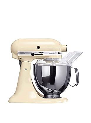 KitchenAid Küchenmaschine Ksm150Pseac + MVSA creme