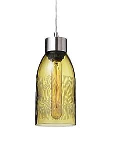 Inhabit Reclaimed Bottle Pendant Light (Madera)