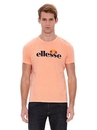 Ellesse Camiseta Basic Logo (Salmón)