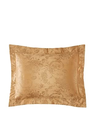 Home Treasures Victoria Floral Sham (Olive/Gold)